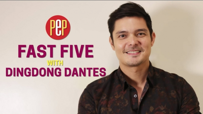 What is the best thing about being Dingdong Dantes?
