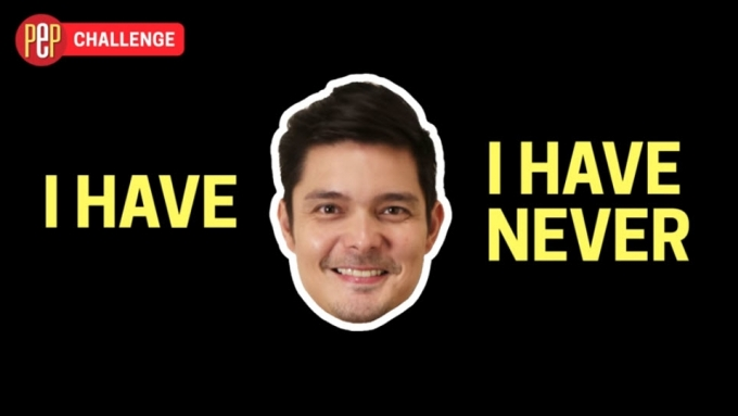 "Dingdong Dantes admits ""faking it"""