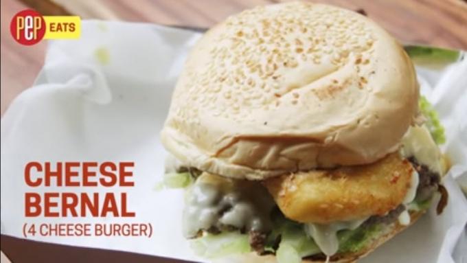 WATCH: How to prepare Cheese Bernal burger