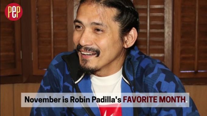 Why Robin Padilla's favorite month is November