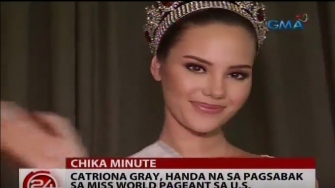 Catriona Gray's gift to fellow Miss World 2016 candidates
