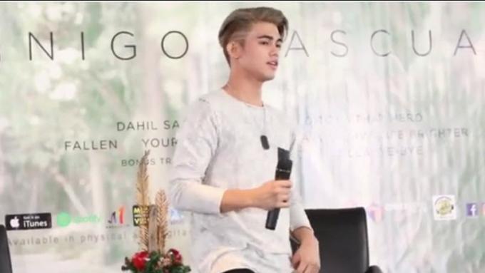 WATCH: Iñigo Pascual performs 'Dito'