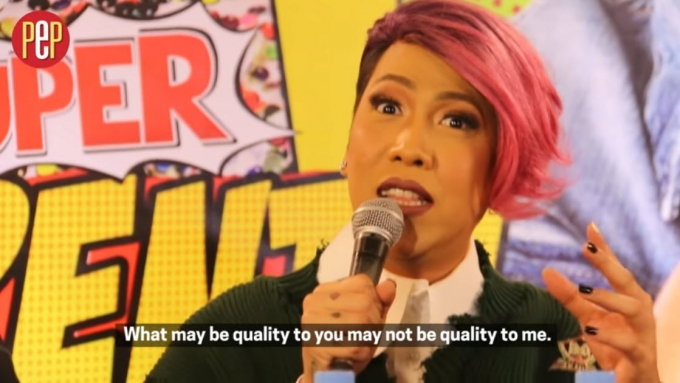 "Vice Ganda: ""My movies were all quality."""