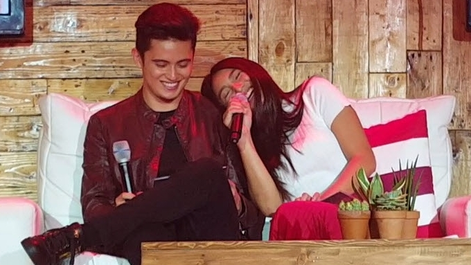 Nadine recalls hard time she had talking to James