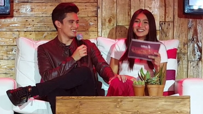 What is Nadine's favorite way of spending time with James?