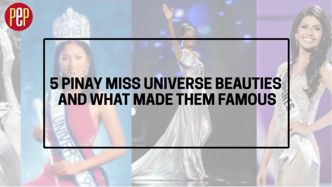 5 Pinay Miss Universe beauties and what made them famous