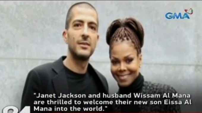 50-year-old Janet Jackson gives birth to baby boy