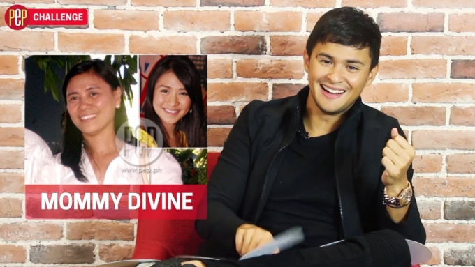 The emoticon Matteo Guidicelli used for Sarah's mom