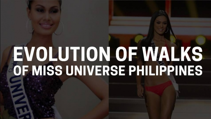 The Evolution of Walks of Miss Universe Philippines