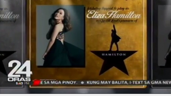 Rachelle Ann Go to star with another Filipina in Hamilton
