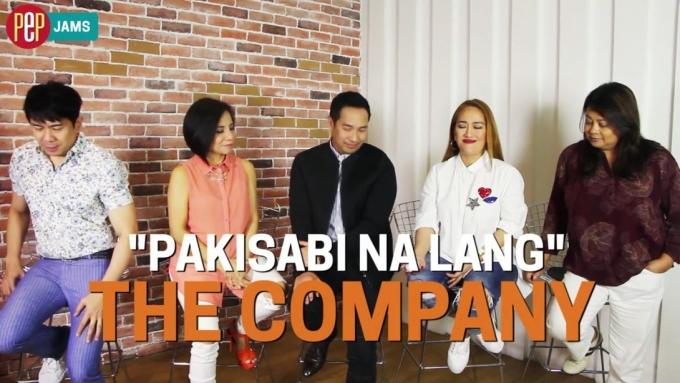 Paki-send ito kay crush: 'Pakisabi Na Lang' by The CompanY