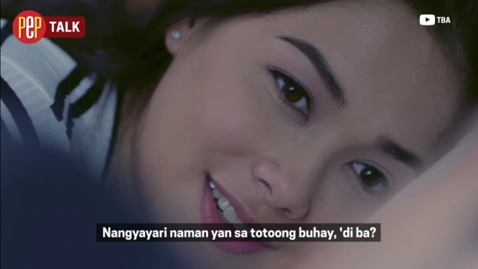 Maja Salvador on drooling over Paulo Avelino