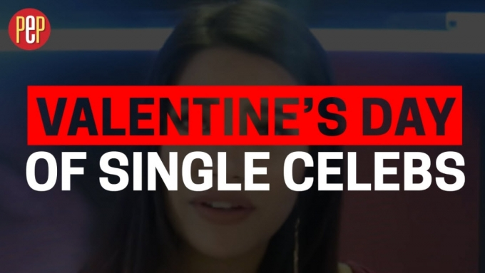 How do these SINGLE celebs plan to spend Valentines?