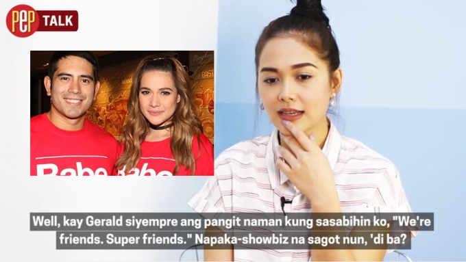 How is Maja towards Gerald and Bea?
