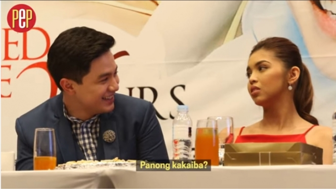 Why did Maine Mendoza say Alden Richards is bullying her?