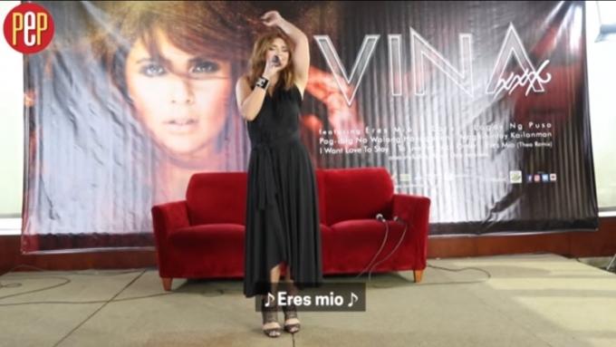 Vina Morales a la-Latina with 'Eres Mio'