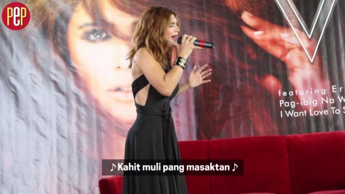 """Vina Morales sings """"Maghihintay Kailanman"""""""