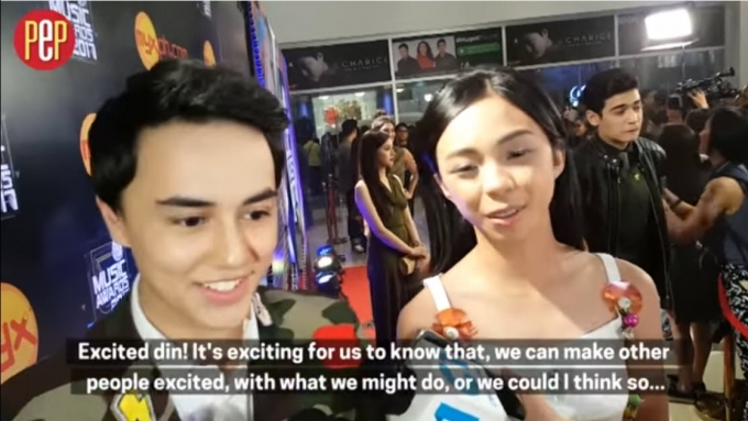 Maymay, Edward excited for whatever comes