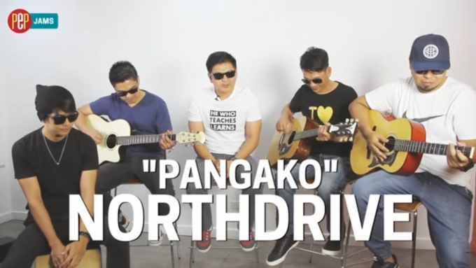 PEP JAMS. Northdrive performs 'Pangako'