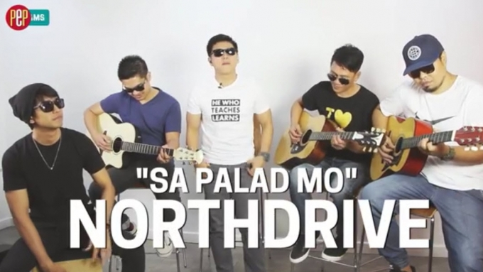 PEP JAMS. Northdrive performs 'Sa Palad Mo'