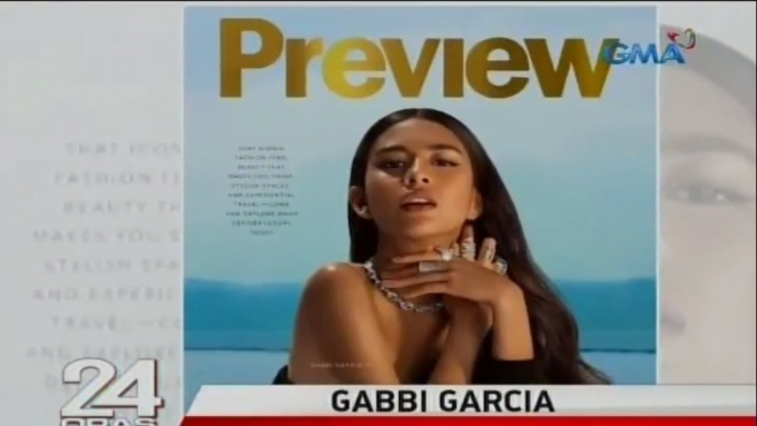 Gabbi Garcia proud of international endorsement