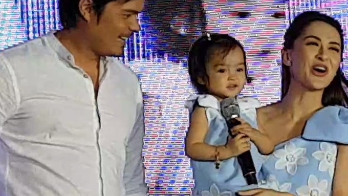 Watch Baby Zia greet everyone in this event