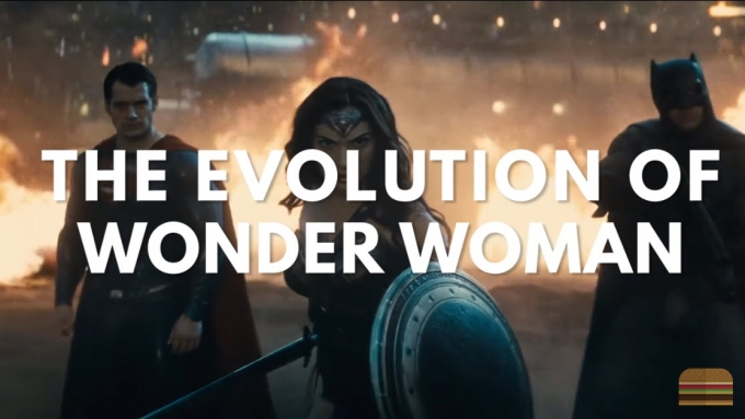 Pinay actress in evolution of Wonder Woman video