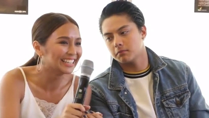 Kathryn teases Daniel about favorite local superhero