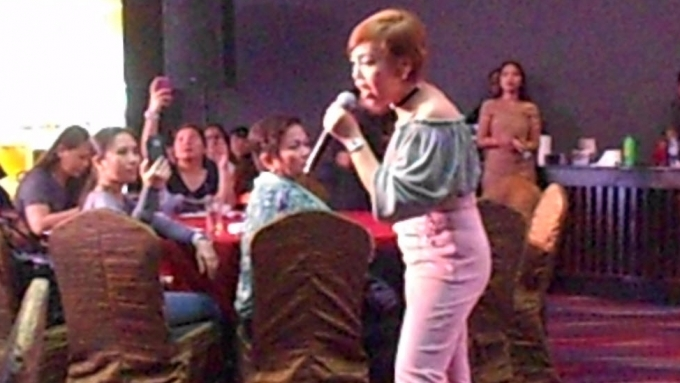 Cacai Bautista's reaction to unappreciative audience