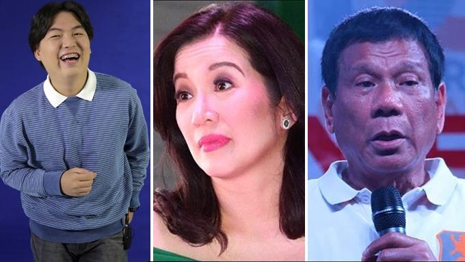 WATCH! 'Kris Aquino' campaigning as 'Pres. Duterte'