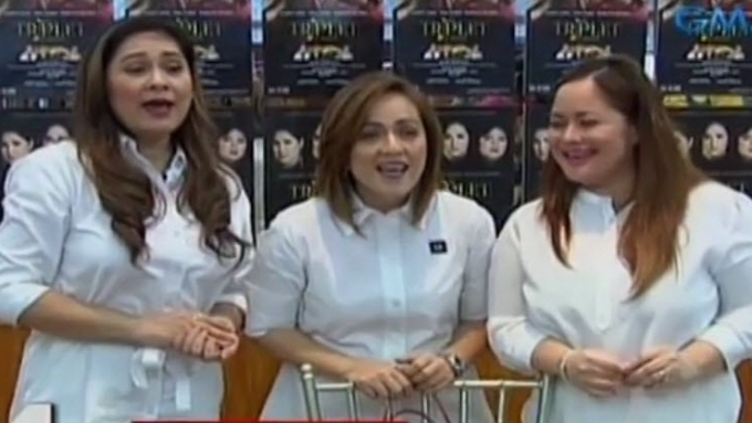 Manilyn, Sheryl, Kristina reunite as The Triplets
