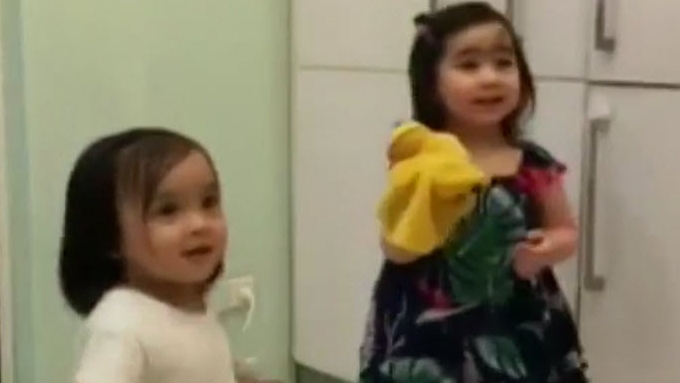 Viral 'away-bati video' of Baby Zia and Scarlet Snow