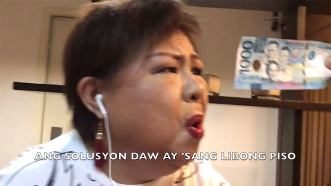 Doña Buding on 'CHR budget' via 'Despacito' spoof