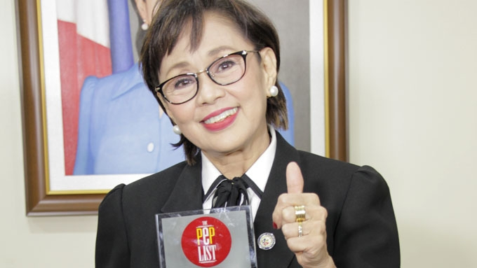 What Vilma Santos thinks of PEP List recognition