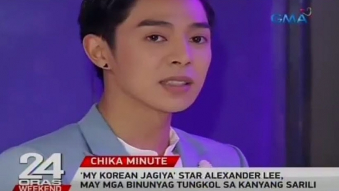 Alexander Lee reveals some of things he is afraid of