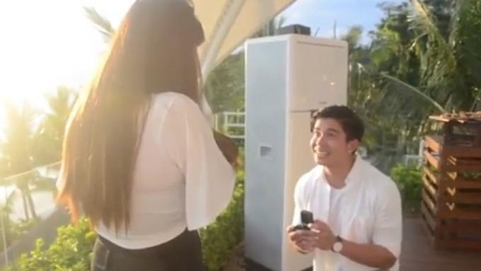 Watch how Rodjun Cruz surprises Dianne Medina