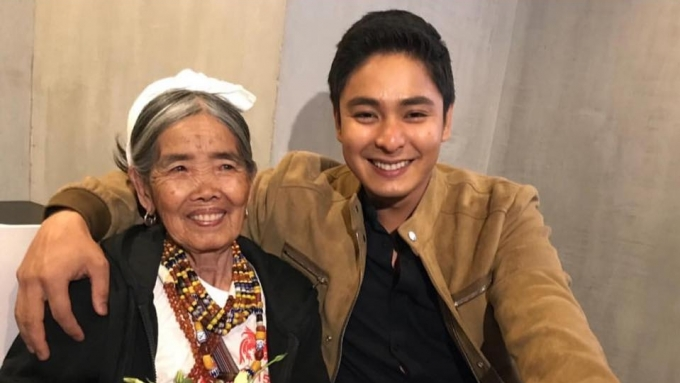 Coco Martin surprises centenarian fan with dinner date