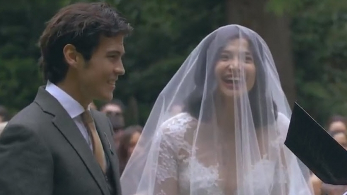 Just how happy was Anne Curtis during her wedding? Watch!