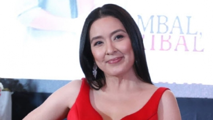 Jean Garcia gets tongue-tied when asked about her love life