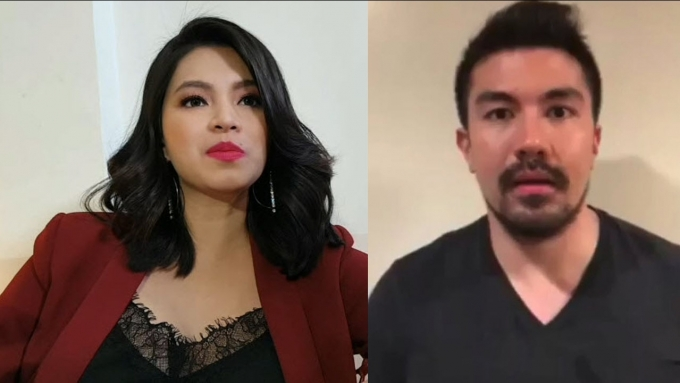 Why Angel is fine working again with ex-BF Luis