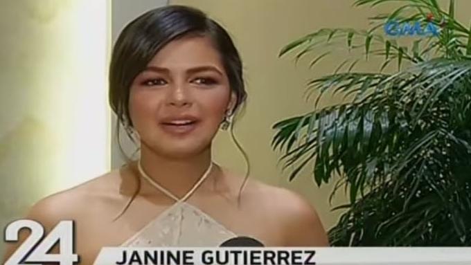 Janine Gutierrez undergoes beauty pageant training
