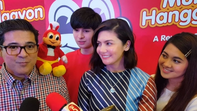 Aga and Charlene's kids, ready to enter showbiz?