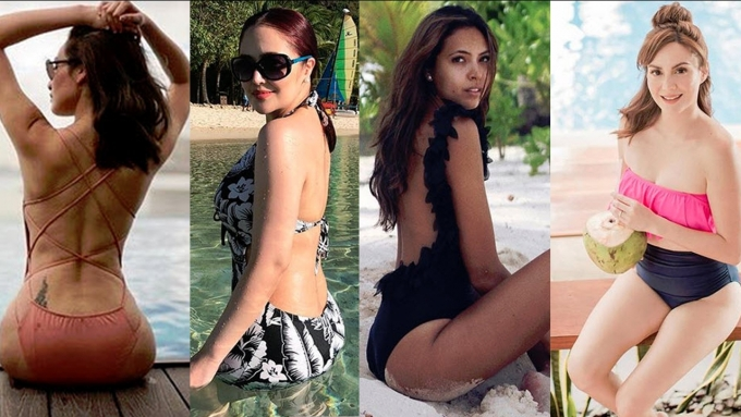 Celebrity moms flaunt their sexy curves in bikini