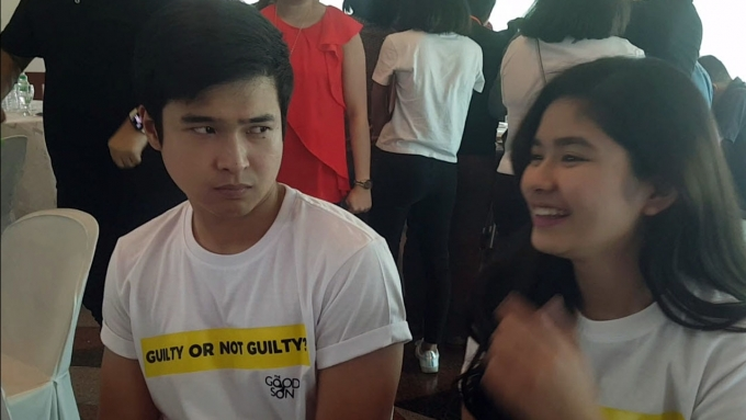 Watch Jerome Ponce's reaction while Loisa talks about exes