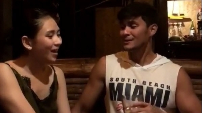 Sarah, Matteo do 'private concert' for friends