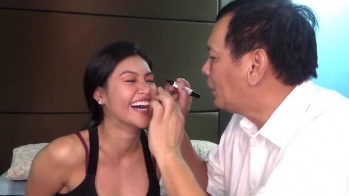 Winwyn Marquez shows dad Joey Marquez's special talent