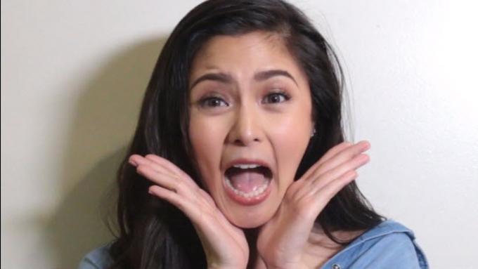 Watch Kim Chiu's weird talent with tongue
