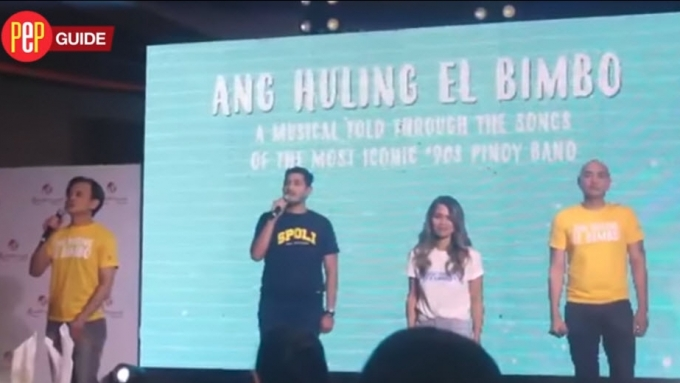 Ang Huling El Bimbo cast shows sneak peek of their show