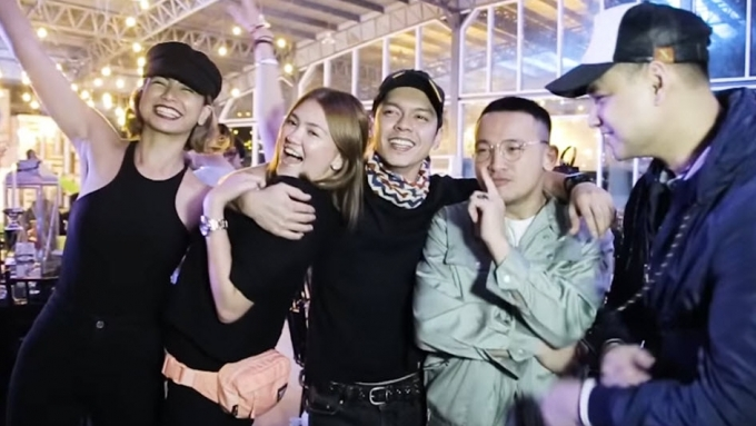 See who came to Carlo Aquino's birthday party
