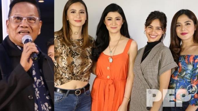 Direk Joel Lamangan scolds a Pamilya Roces star:
